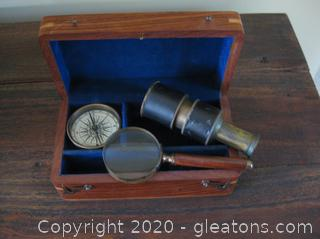 Vintage-Look Navigation Set