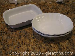 3 Serving Dishes from Portugal