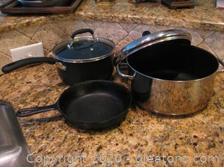 Mixed Lot of Cookware