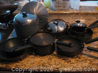 Large Lot of Circulon Cookware