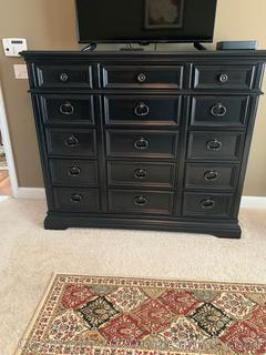 Arrington Dark Wood Master Chest of Drawers