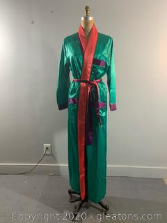 Multicolor Saks Fifth Avenue Robe NEW WITH TAGS (L)