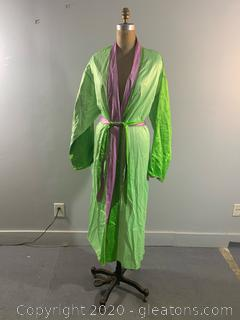Neiman Marcus Multicolor Robe NEW WITH TAGS (L)