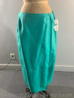 Jones New York 100% Silk Long Skirt - NEW WITH TAGS (size 16)