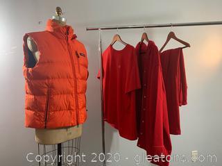 4pc Lot of Womens Ralph Lauren Winter Attire (2X & L)