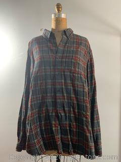 Men's L.L.Bean Christmas Colored Flannel (XL)