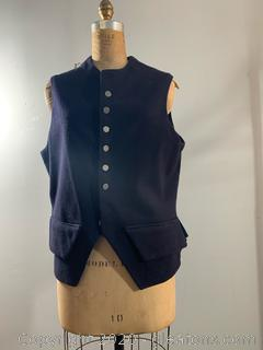 Men's Jas Townsend and Son Formal Vest (One size fits Most)