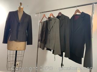 Lot of Ann Taylor 2 Piece Business Suits (size 8)