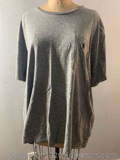Men's Polo Ralph Lauren Gray Tee Shirt (XXL)