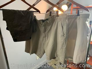 3 pc Lot of Men's Summer Shorts (size 40 & 42)
