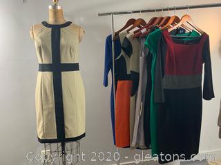 8 pc Lot of Formal/Business Short Dresses (size 6)