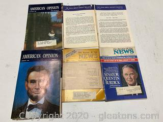 America Opinion 1980s