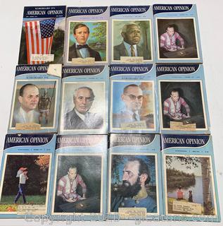 American Opinion Reprint Series 1970s