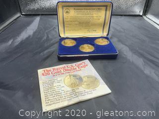 National Collectors Mint 1933 Gold Double Eagle Proof Set