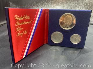 U.S Bicentennial Silver Proof Set