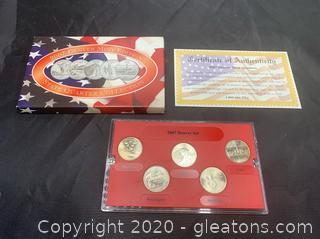 2007 Brilliant Uncirculated Statehood Quarters