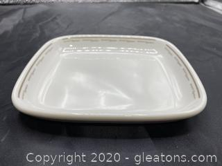 Vintage Midwest Express Airlines Serving Dish