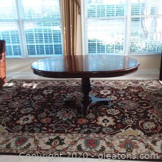 Thomasville Pedestal Breakfast/Dining Table with 1 Leaf