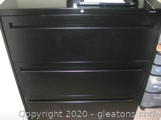 Hon Vertical File Cabinet – Does Not Include Printer