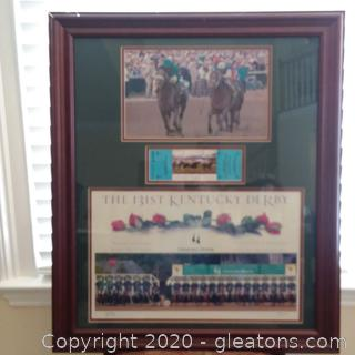 The 131st Kentucky Derby Memorabilia