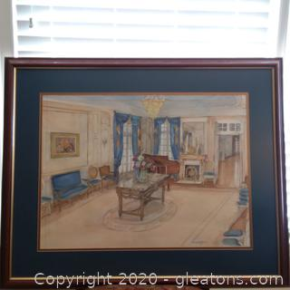 Limited Edition Signed Lithograph by Leslie Gibbs Bottorit