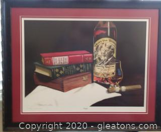 """""""Pappy"""" Lithograph by Gary Curtis – Numbered and Signed"""