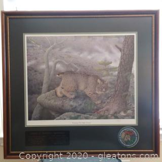 """Signed Limited Edition Print """"Roaming the High Ground"""""""