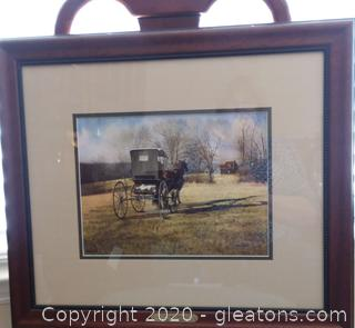 """Signed Limited Edition Lithograph """"Country Doctor"""" by Steve White"""