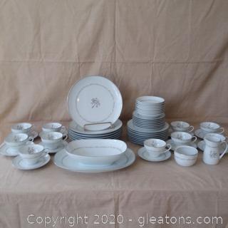 Noritake China 6109 Mayfield 43 Pieces