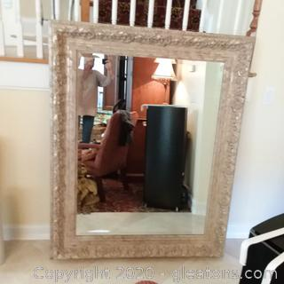 Large, Very Ornate Wall Mirror