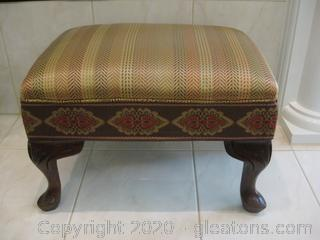 Small Upholstered Footstool