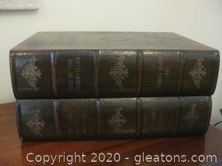Decorative Storage Box in Literature Motif