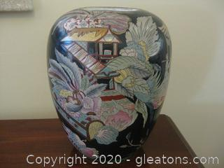 Chinoiserie Decorative Urn