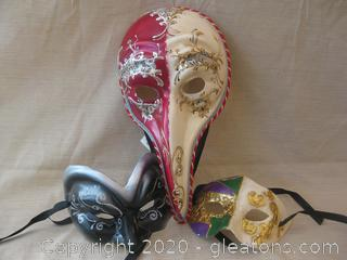 Unique Mask Group C From Kentucky Governor's Masquerade Ball