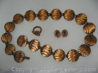 3 Piece Copper Set