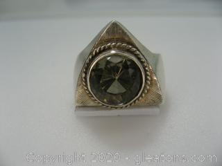 Sterling Silver Men's Ring