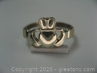 Irish Sterling Claddah Ring