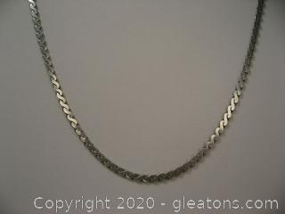 """24"""" Italian Sterling Necklace"""