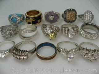Collection of Fashion Rings
