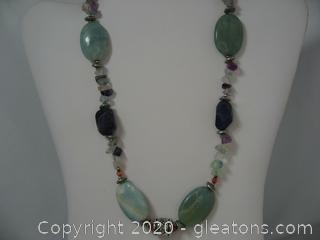 Gemstone Beaded Necklace