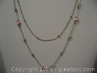 Set of 2 Fashion Necklaces