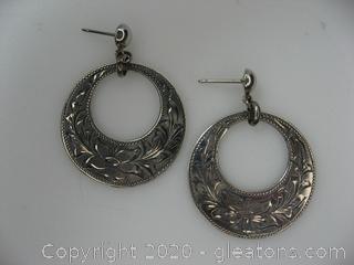Dangle Earrings W/14kt Posts