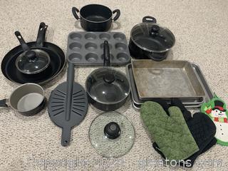 Pots and Pans - Large Lot
