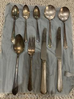 National Silver Co.Silver Plated Silverware