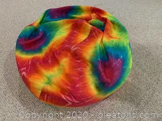 Tie-Dye Bean Bag