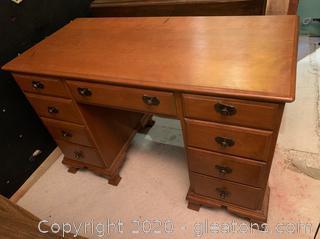 Tos.P.Beals Cherry Writing Desk