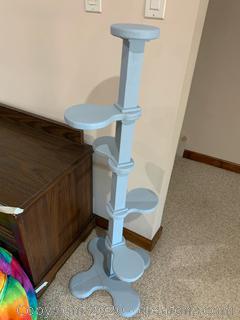 Wooden Tier Display Pedestal