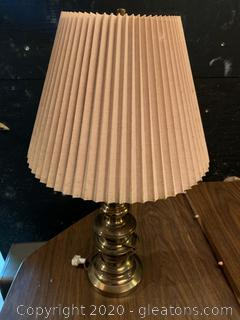 Brass Mid Century Modern Table Lamp