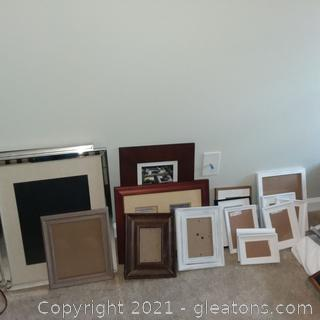 Assortment of Picture Frames