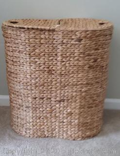 Double Sided Laundry Hamper